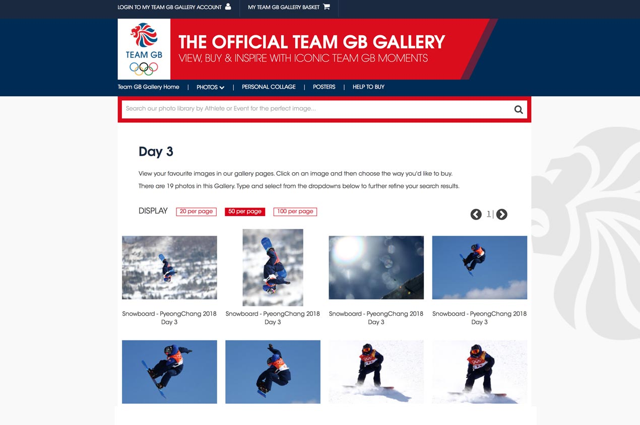 The Official Team GB Photo Gallery
